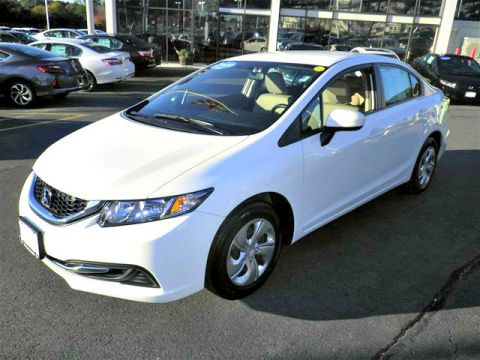 Certified Pre-Owned 2015 Honda Civic LX FWD 4D Sedan