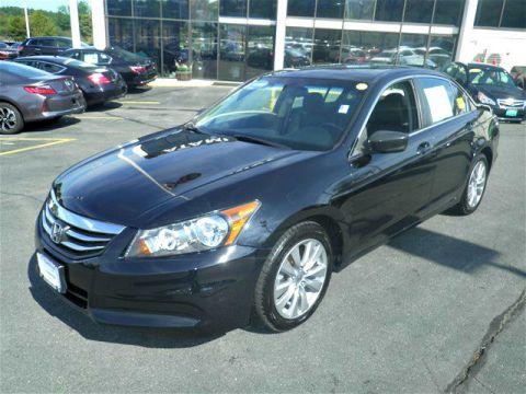 Certified Pre-Owned 2012 Honda Accord EX-L FWD 4D Sedan