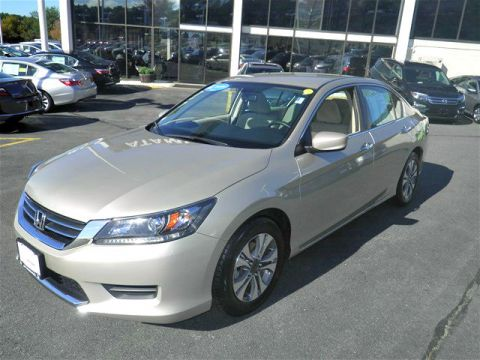 Certified Pre-Owned 2013 Honda Accord LX FWD 4D Sedan