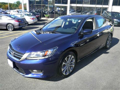 Certified Pre-Owned 2014 Honda Accord Sport FWD 4D Sedan