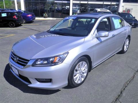 Certified Pre-Owned 2014 Honda Accord EX-L FWD 4D Sedan