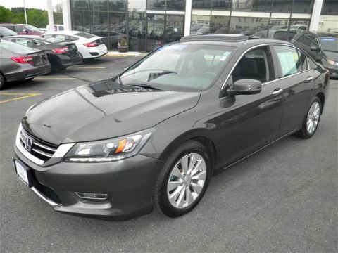 Certified Pre-Owned 2013 Honda Accord EX-L FWD 4D Sedan