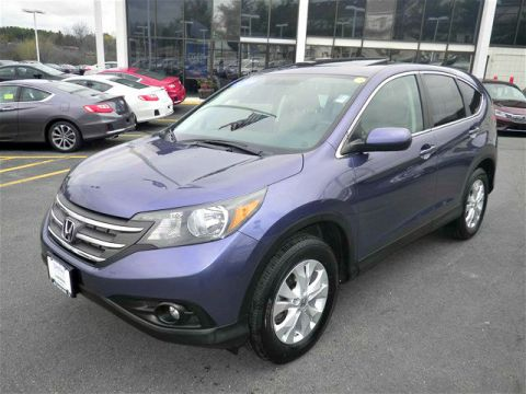 Certified Pre-Owned 2013 Honda CR-V EX  AWD
